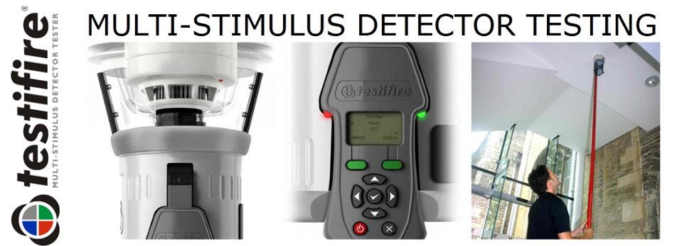 TESTIFIRE - Multi-Stimulus Detector Testing