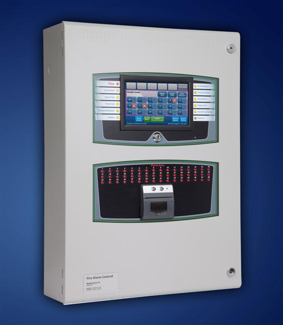 TAAE8 - Centrale Detection Incendie Taktis 8 Boucles adressables analogiques - 8 Loops Analogue Addressable Taktis Fire Control Panel