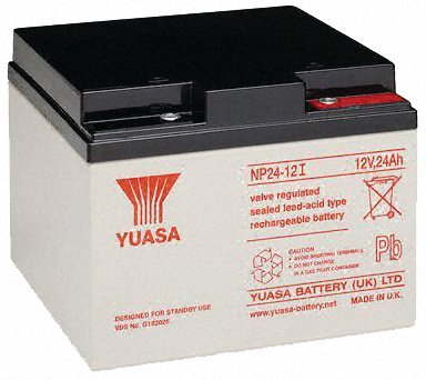 RB240AH - Batterie étanche au plomb 12V 24AH Yuasa Yusel Sealed Lead Acid 12V 24AH