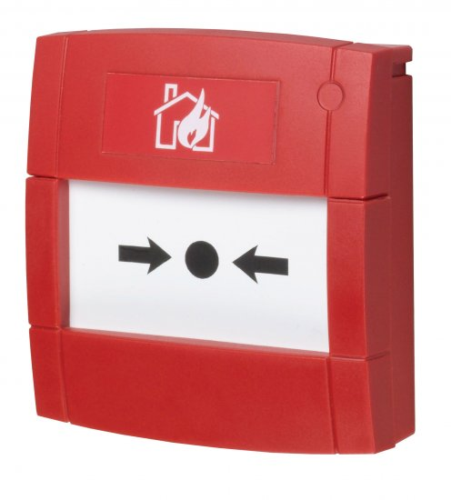 MCP1A-R470FF - Bouton Poussoir Incendie Rouge avec résistance 470R et contact libre KAC Red MCP Indoor Call Point