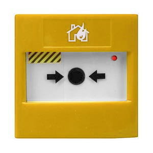 VCP100Y– Bouton d'Alerte Adressable Jaune VEGA Argus Security Yellow Manual Call Point