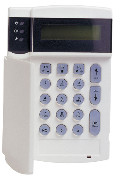 CS5500 - Clavier LCD piloté par menus déroulants NF et A2P type 2 UTC Fire & Security Menu Driven Keypad ARITECH