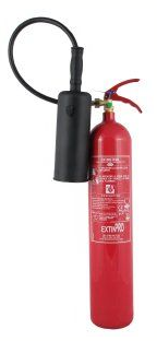 CS5-A  -  Extincteur CO2 Portable de 5kg Carbon Dioxide CO2 Extinguisher