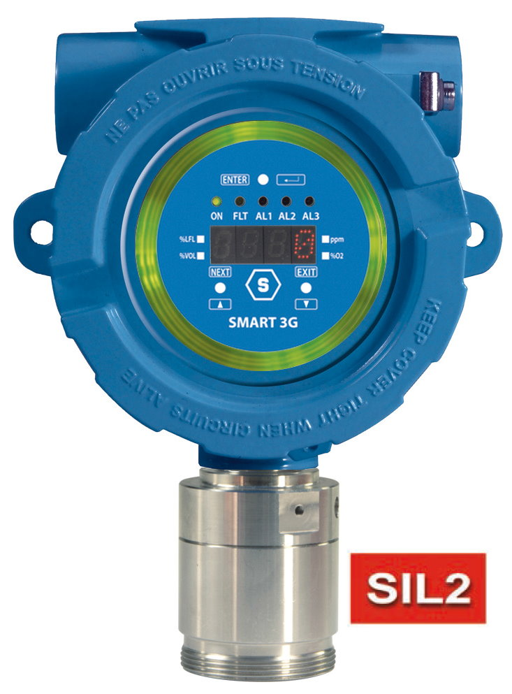 SMART3G-D2 - Détecteur de Gaz avec Afficheur Zone 1 Cat 2 gas detector with display