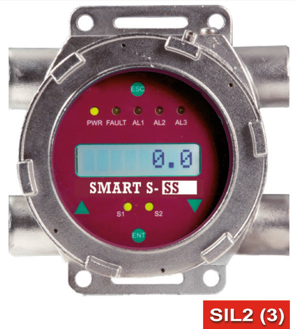 SSS2S - Transmetteur Exd LCD boitier 4 entrées Acier Inoxydable - Transmitter Exd LCD Stainless Steel enclosure 4 entries