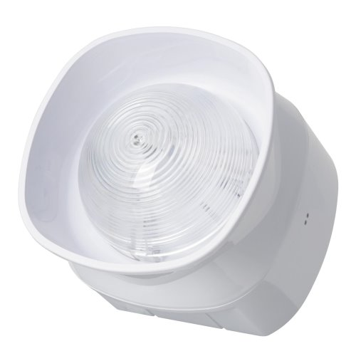 SGRS100-AV/W– Sirène/Flash Blanche Adressable avec Protocole Radio Sagittarius White Audiovisual Wireless Wall Sounder
