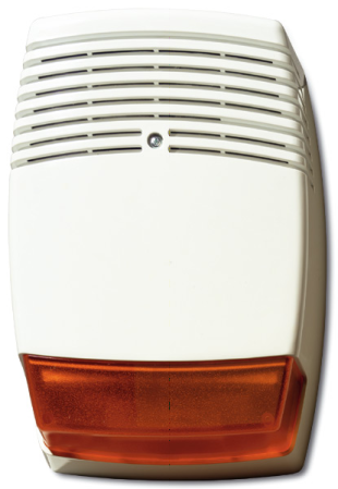 AS610 - Sirène extérieure auto alimentée avec flash ambre NFA2P type 3 UTC Fire & Security Outdoor siren with single amber beacon AS610 ARITECH