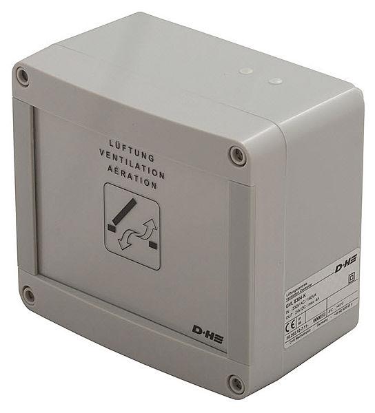 Système de Régulation Automatique de Ventilation, boitier plastique IP30 4A GVL8304K D+H 4A Ventilation Control Panel GVL8304K