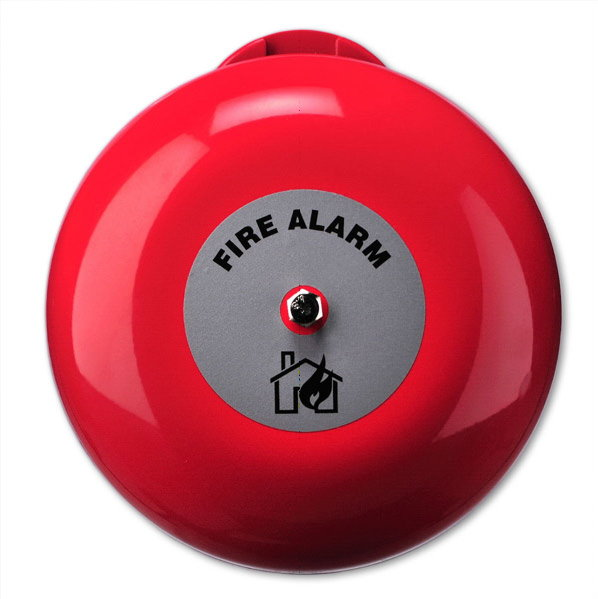 AB360 Sonnerie incendie 150 mm pour usage intérieur, 24 VDC - 6 inch Fire bell for indoor use, EN54-3 Approved, 24 VDC