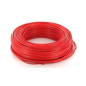 TVVF1X2X0.8 - Câble Incendie Faradisé 2 x 0,8 mm2 - Shielded Fire Cable 2 wires 0.8 mm2