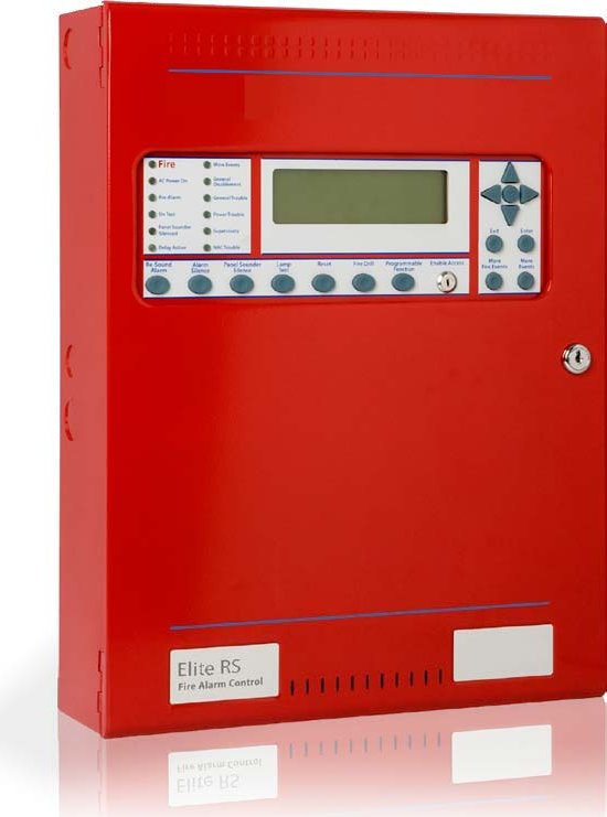 K0820 - Centrale Détection Incendie Elite RS UL/FM 2 boucles Hochiki - UL/FM 2 Loops Hochiki Fire Control Panel Elite RS