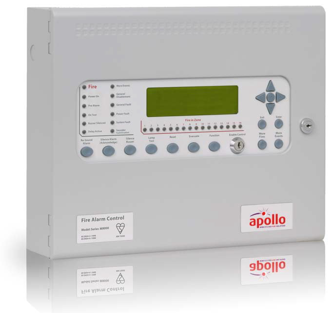 MA80162M2 Centrale Incendie Analogique Marine Apollo 2 boucles  - Marine Apollo Analogue Addressable 2 Loop Control Panel
