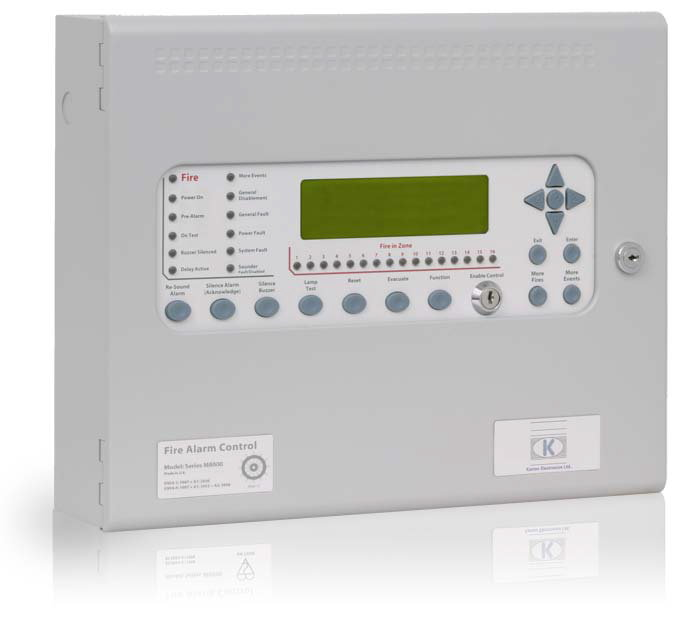 MH80162M2 Centrale Incendie Analogique Marine Hochiki 2 boucles  - Marine Hochiki Analogue Addressable 2 Loop Control Panel