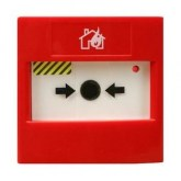 VCP100R– Bouton d'Alerte Adressable Rouge VEGA Agus Security Red Manual Call Point