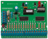 CS216 - Carte d'extension 16 Zones, NF et A2P type 2 UTC Fire & Security Input Expander 16 Zones CS216 ARITECH