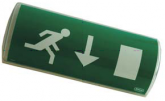ELS290309 - Kit Pictogrammes pour éclairage de Secours UniLUX Pictogram set for Emergency Lighting