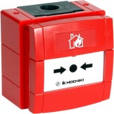 WCP1A - Bouton d'Alerte Conventionnel Rouge Etanche agréé Marine - Marine Approved Weatherproof Conventional Call Point Red