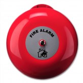 AB380E Sonnerie incendie 200 mm pour usage extérieur, 24 VDC - 8 inch Fire bell for outdoor use, EN54-3 Approved, 24 VDC