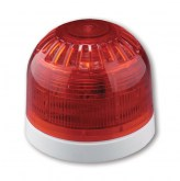 AS366W Sirène/Flash, 32 tonalités, socle profil bas, blanc - Sounder-Beacon, 32 Tones, shallow base, white - UTC Fire & Security