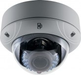 TVD-1104 Caméra Dôme IR Extérieure IP, Full HD 3 MPX, 2.8-12 mm - 3 MPX Full HD Outdoor IR Dome Camera, 2.8 to 12mm lens