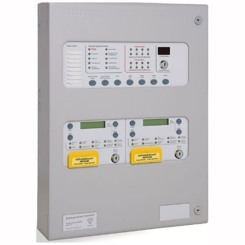 K21021M3 - Centrale D'extinction Incendie 2 Zones 1 Région - 2 zones 1 area Extinguishant Fire Control Panel SIGMA XT+
