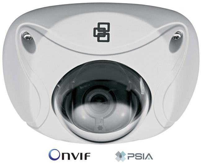 TVD-N210W-4-P - Camera IP Dôme plat VGA, Objectif fixe 4mm, IP66 - VGA Wedge Dome IP Camera, 4mm fixed lens IP66